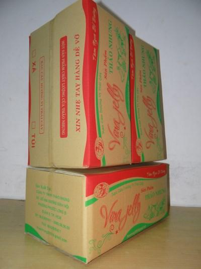 Thùng carton 5 lớp(Rau Câu Cúc