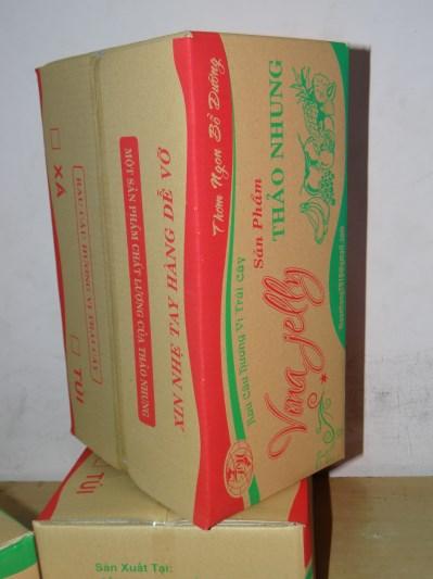 Thùng carton 5 lớp(Rau Câu Cúc)