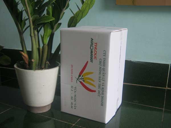 Thùng carton 5 lớp(Ớt)